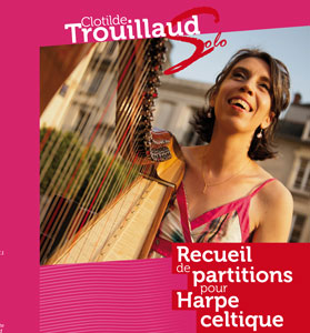 Partition • Recueil de partitions pour harpe celtique